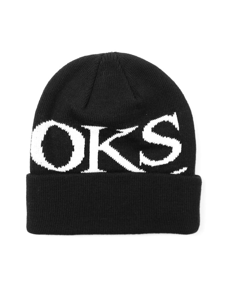 Serif Crooks Beanie Black