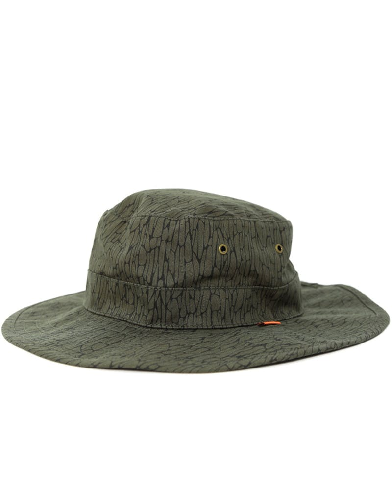 Boonts Bucket Hat Olive/brown