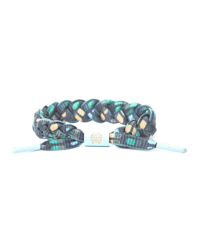 Rastaclat Braclet Black/light Blu