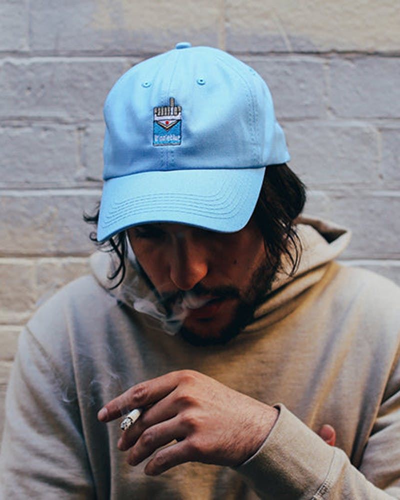 Winnieblue Strapback Light Blue