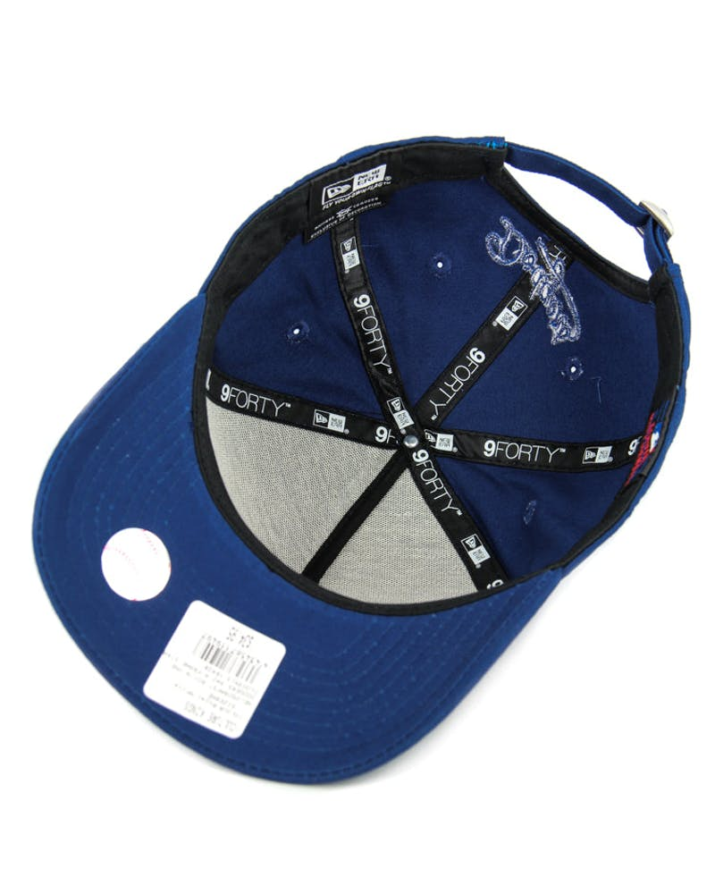 New Era Dodgers 9FORTY A-Frame Strapback Royal/white