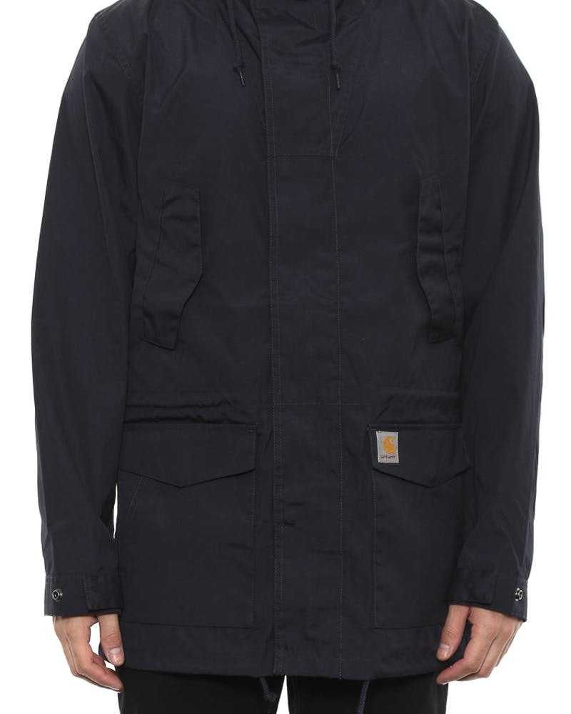 Battle Parka Jacket Dark Navy