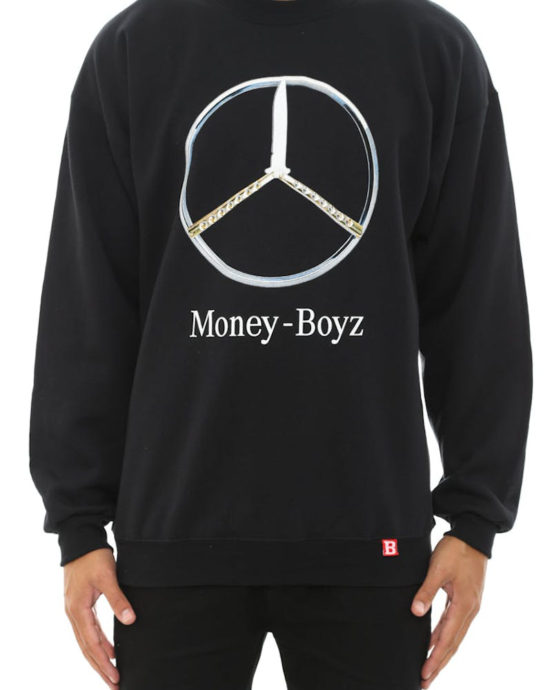 Money Boyz Crewneck Black