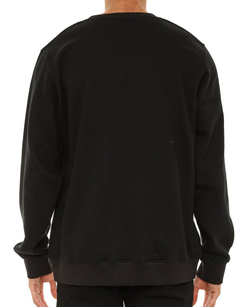 Origins Crew Neck Sweater Black
