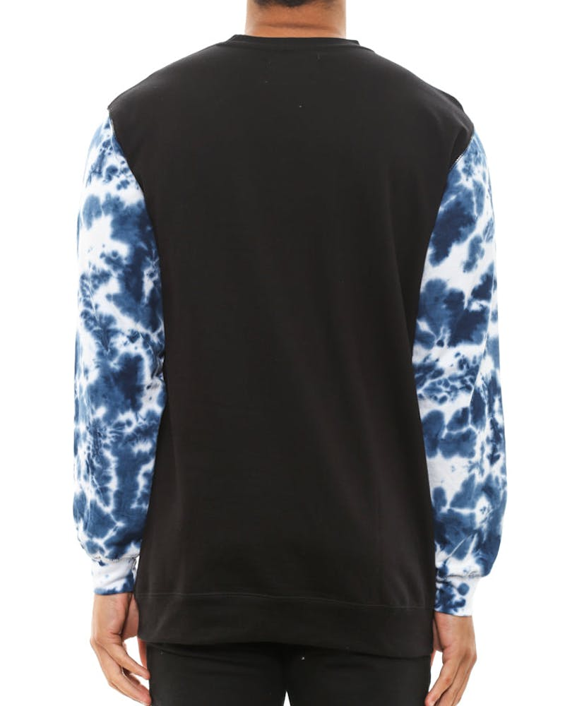 Blue Dilation Crewneck Black