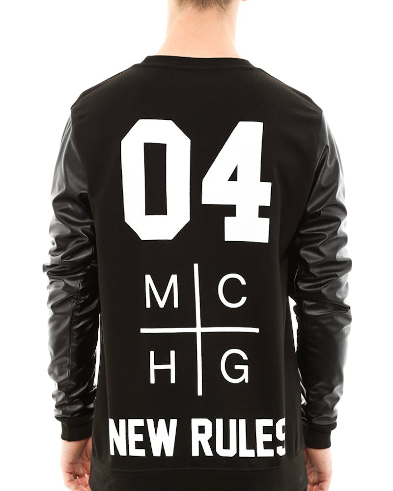 New Rules Sweatshirt Black
