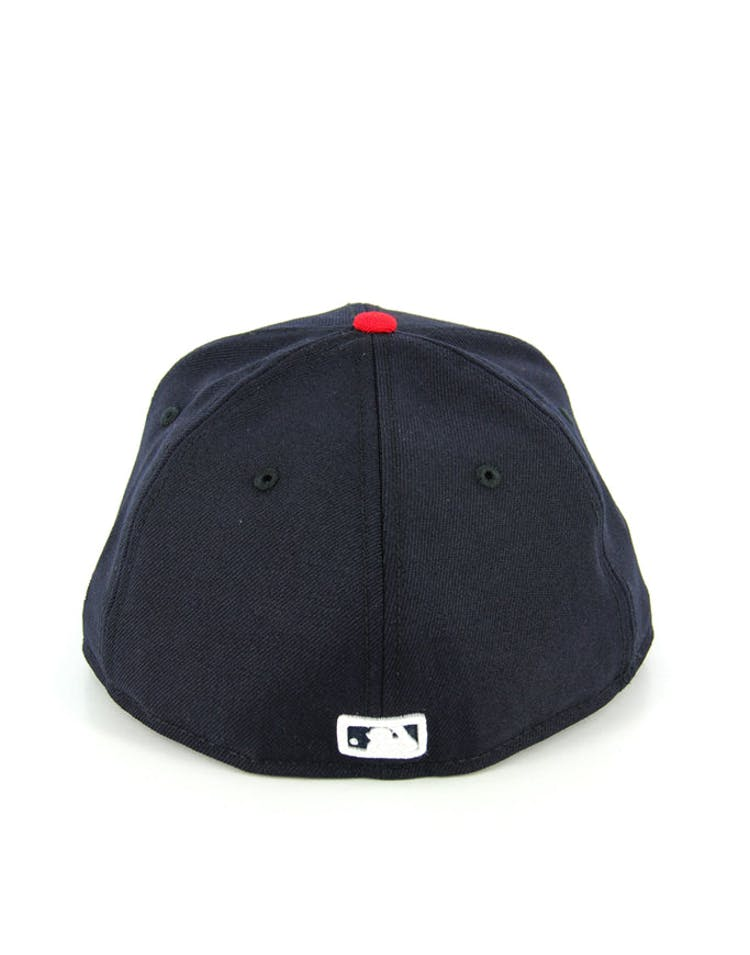 Yankees Fashion Fitted Navy/scarlet
