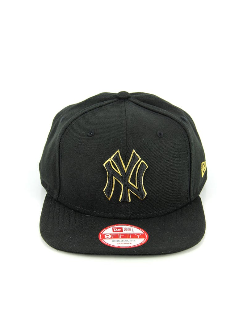 Yankees Original Fit Snapback Black/metallic