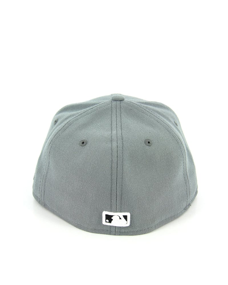 Yankees Fashion Fitted Grey/black/whit