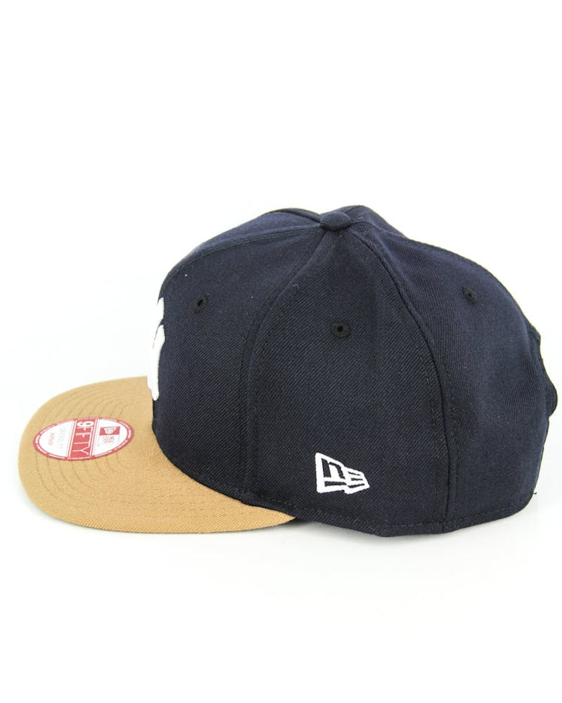 Dodgers Original Fit Snapback Navy/wheat/whit