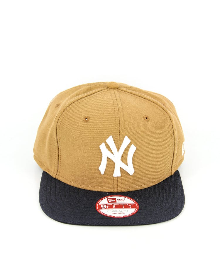 Yankees Original Fit Snapback Wheat/navy/whit