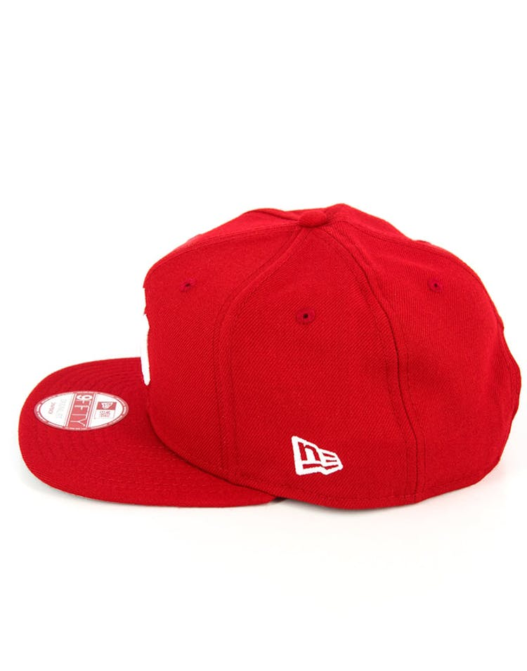 Dodgers Original Fit Snapback Scarlet/white/g