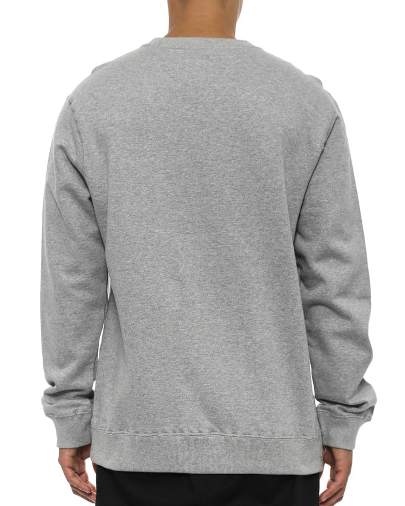 Classic Arch Crew 2 Heather Grey/bl