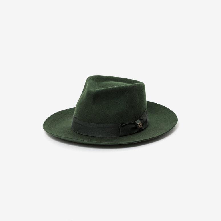 Lopez Fedora Hunter Green