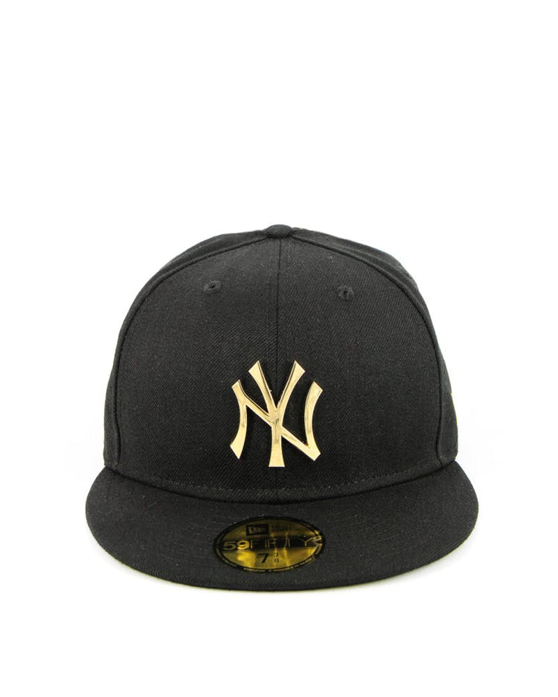 New York Yankees Metal Black/gold