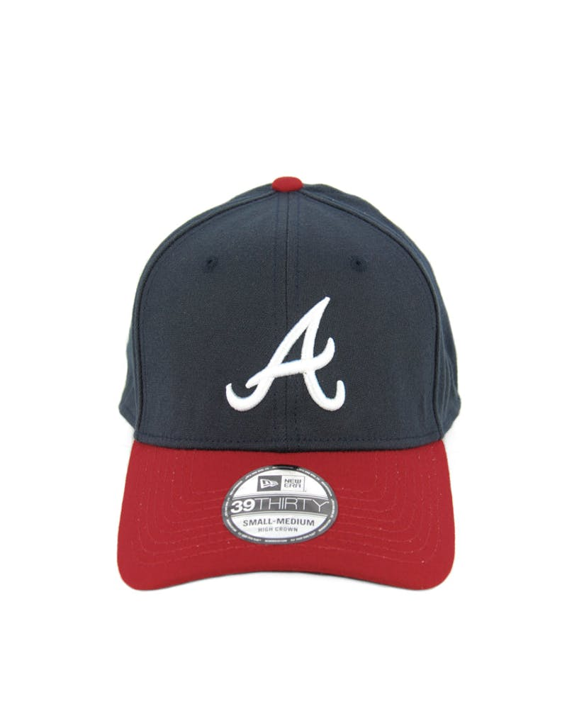 Braves High Crown 3930 Navy/red