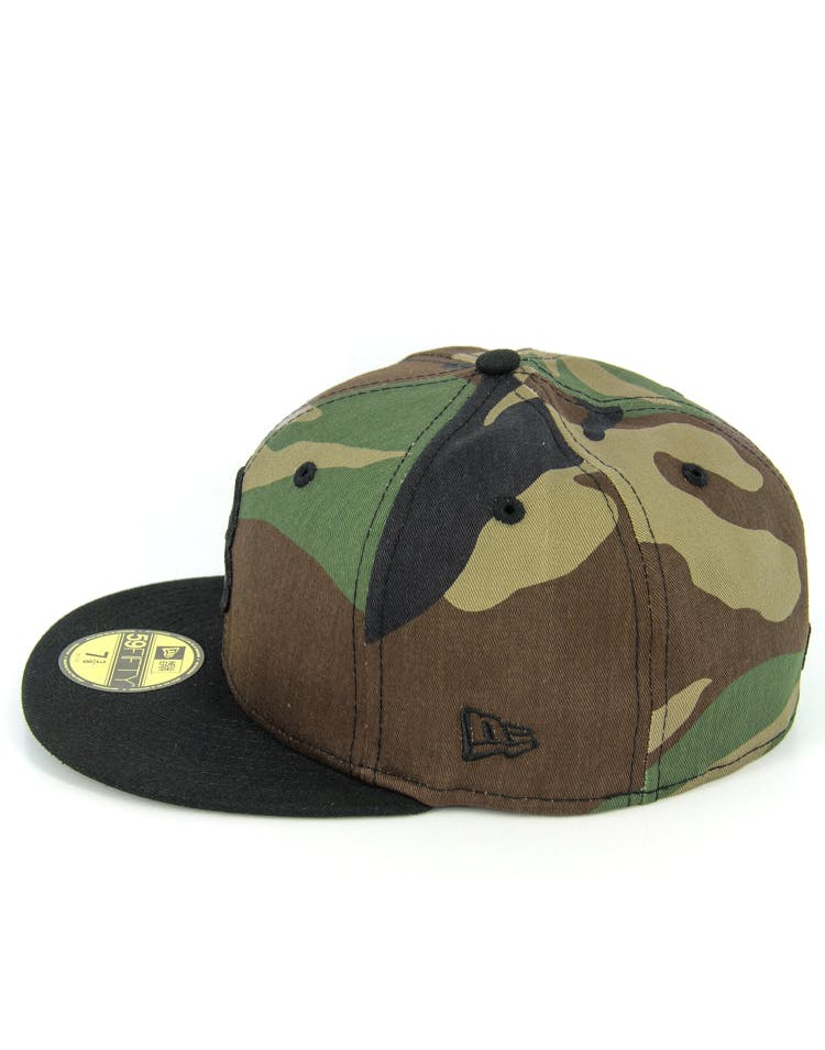 Braves Fashion Fitted Camo/black
