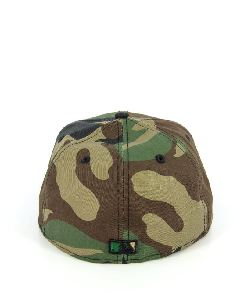 Yankees Fashion Fitted Camo/black