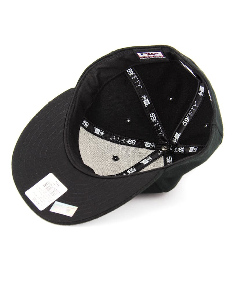 White Sox Low Crown On Field Black/white