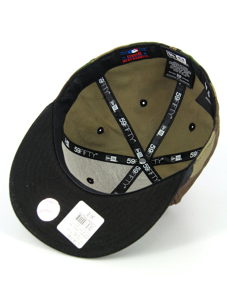 Boston Red Sox Fashion Fitted Camo/black