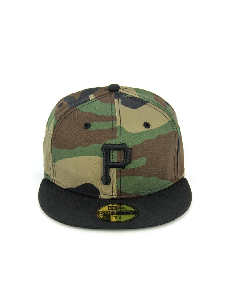 Pirates Fashion Fitted Camo/black