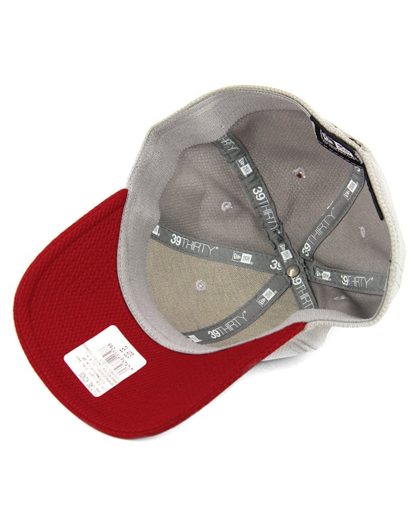 Manchester United Diamond 3930 Light Grey/red