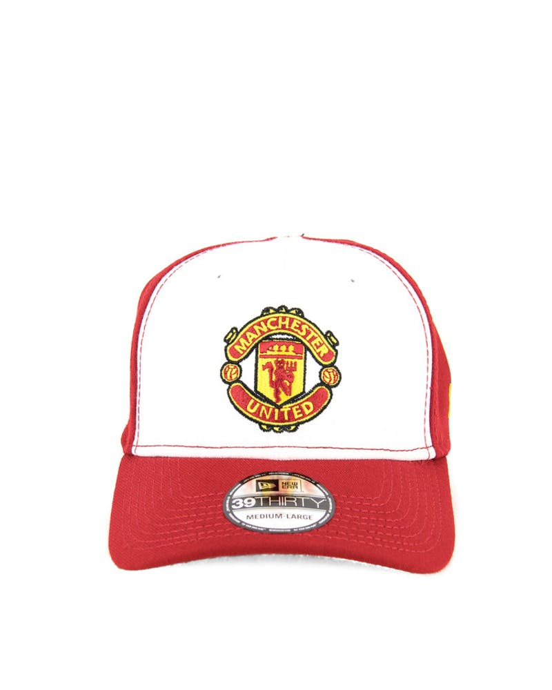 Manchester United 3930 White/red