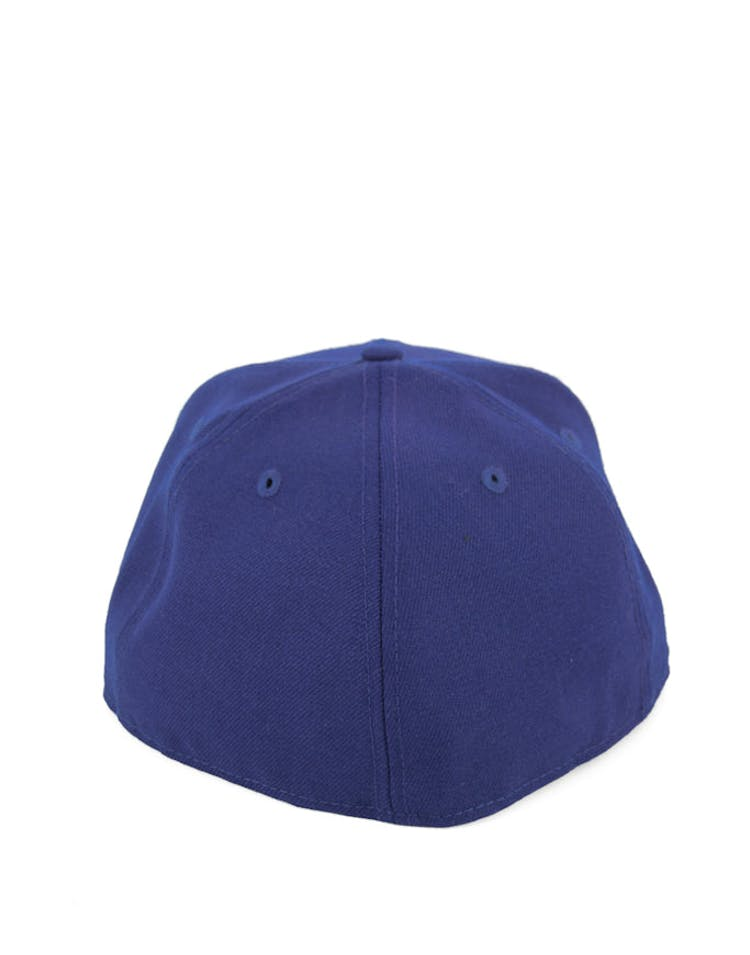 Yankees Fashion Fitted Dark Royal/whit