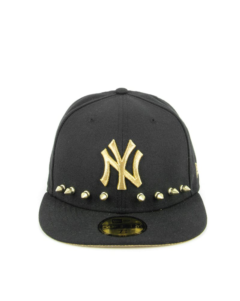 Studpop New York Yankees Fitted Black/gold