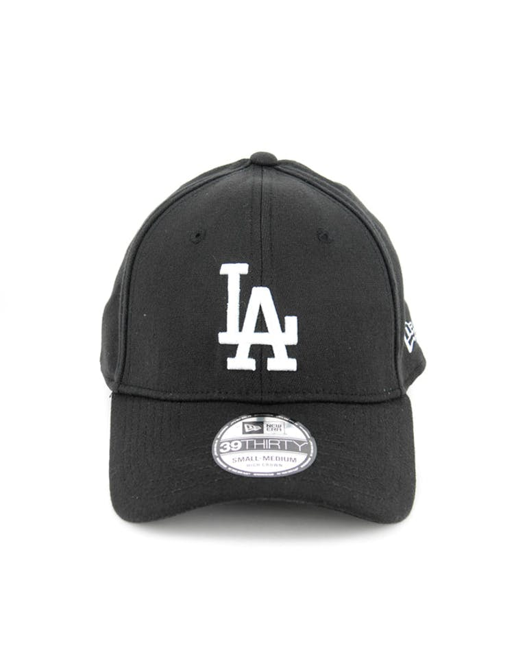 Dodgers High Crown 3930 Black/white
