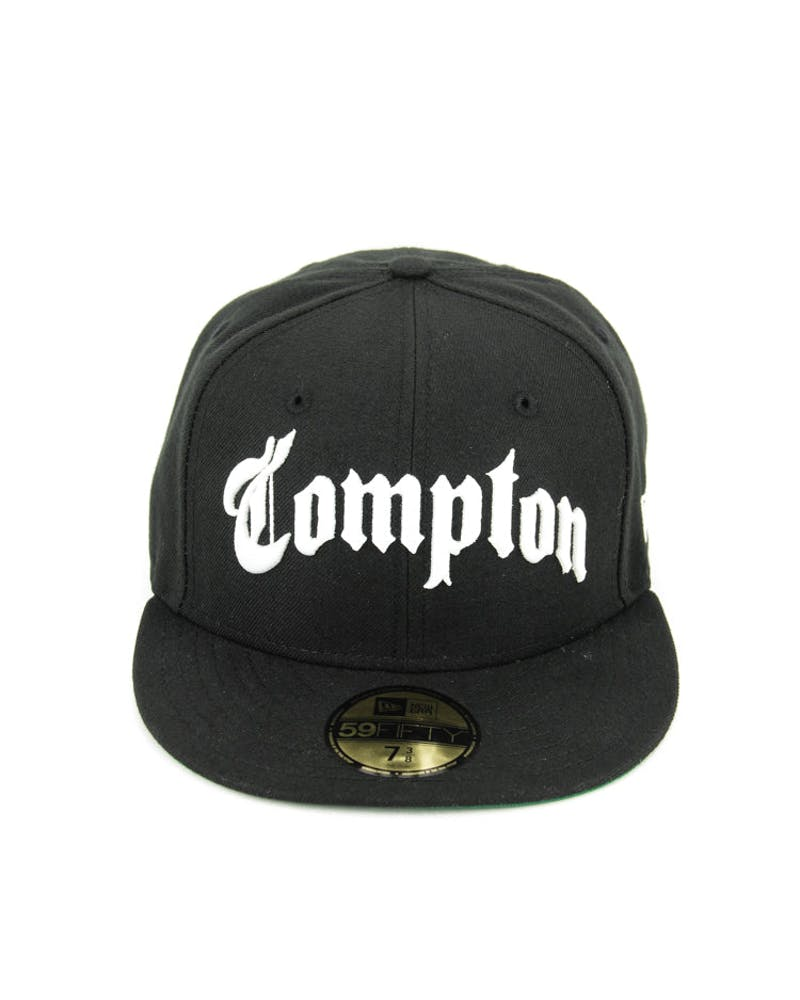 Compton Fashion Fitted Black/white