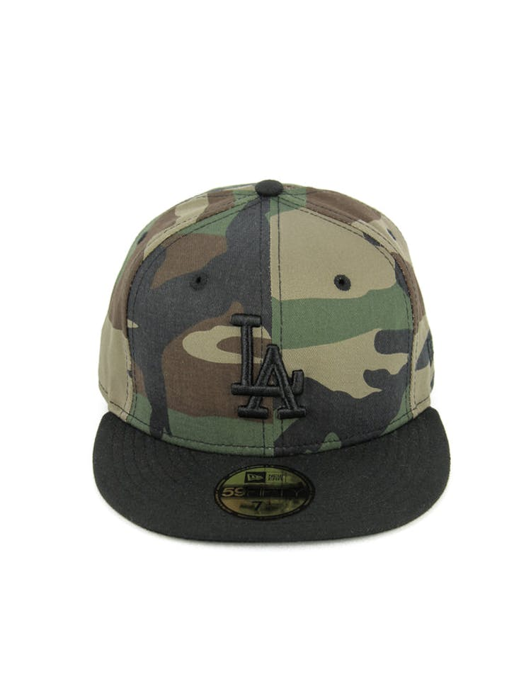 Dodgers Fashion Fitted Camo/black