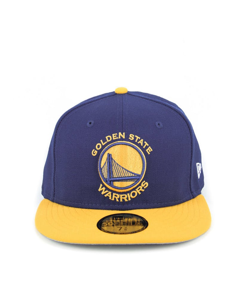 San Francisco Golden ST Warriors Fashion Fitted Royal/gold