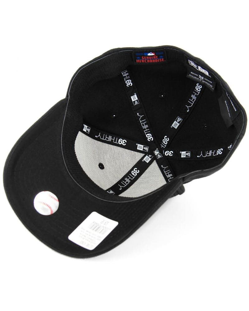 White Sox High Crown 3930 Black/black