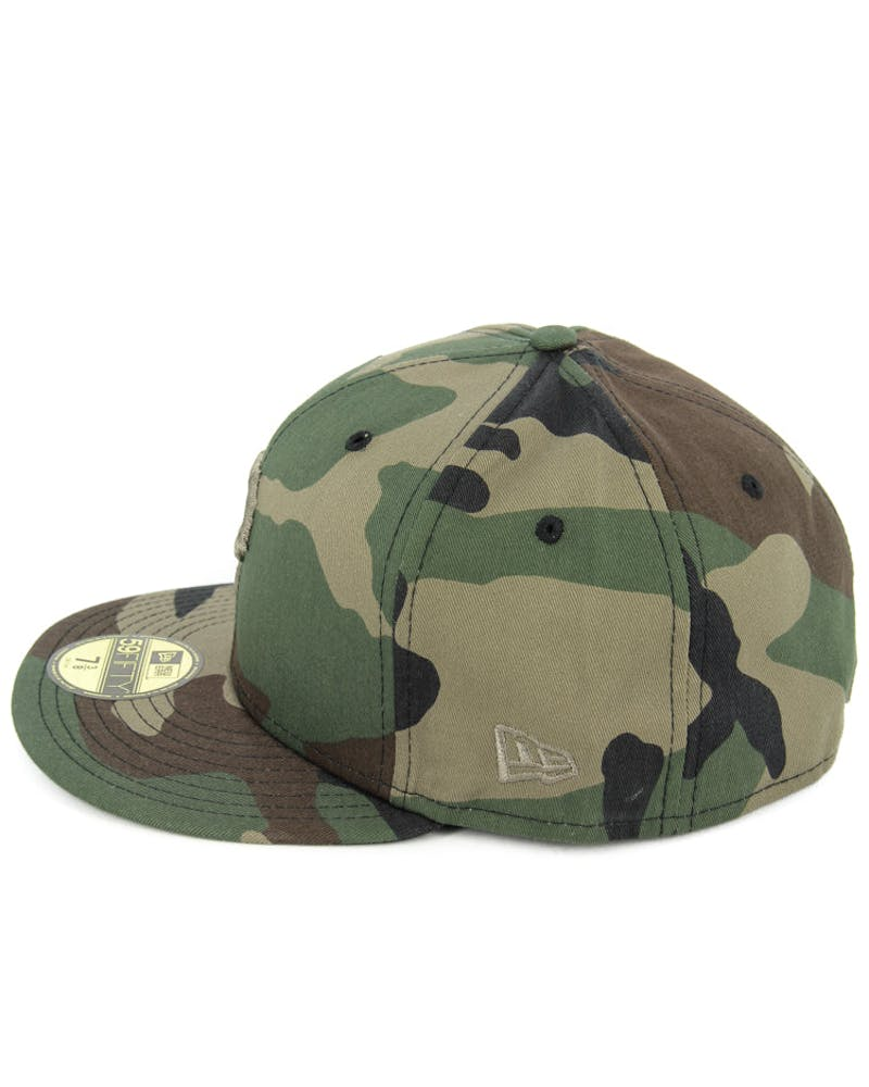 Pirates Fashion Fitted Camo/gold