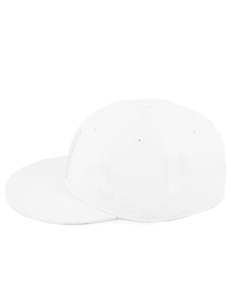 Creston Fitted Cap White