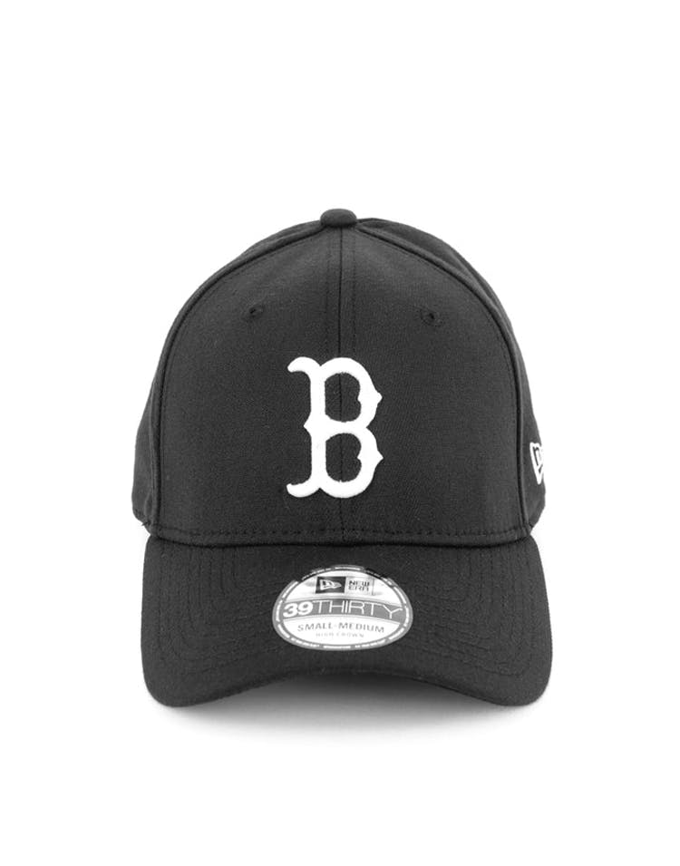 Red Sox High Crown 3930 Black/white