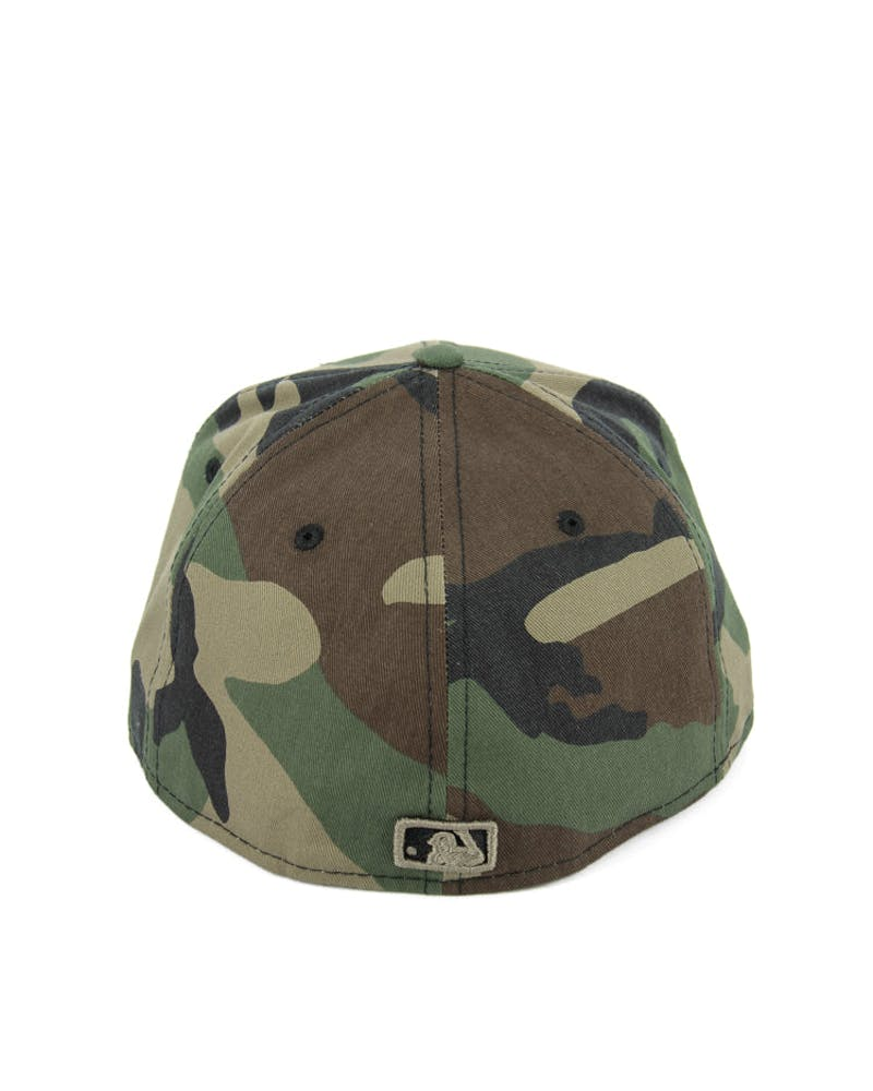 White Sox Fashion Fitted Camo/gold