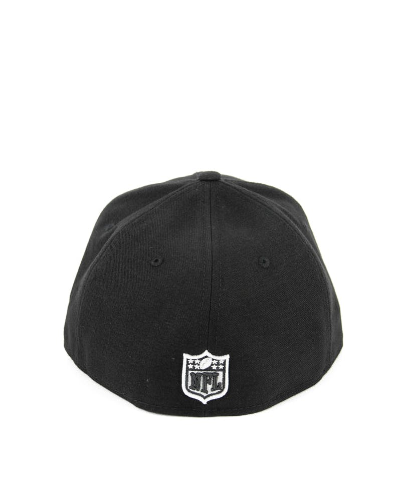 Oakland Raiders Fashion Fitted Black/grey/whit