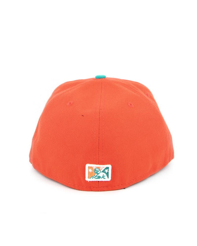 West Virginia Power Fashion Fitted Orange/teal