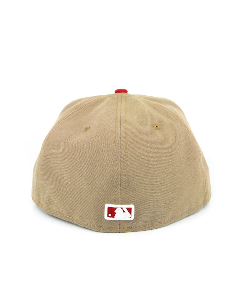 San Francisco Giants Ff2 Khaki/red