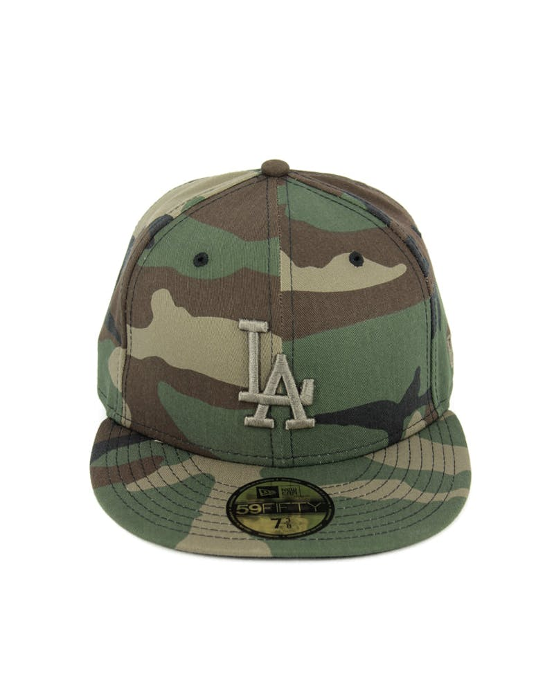 Dodgers Fashion Fitted Camo/gold