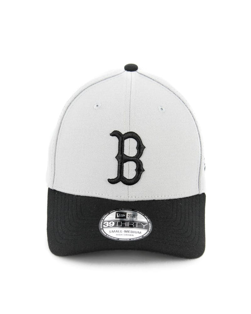 Red Sox High Crown 3930 Grey/black