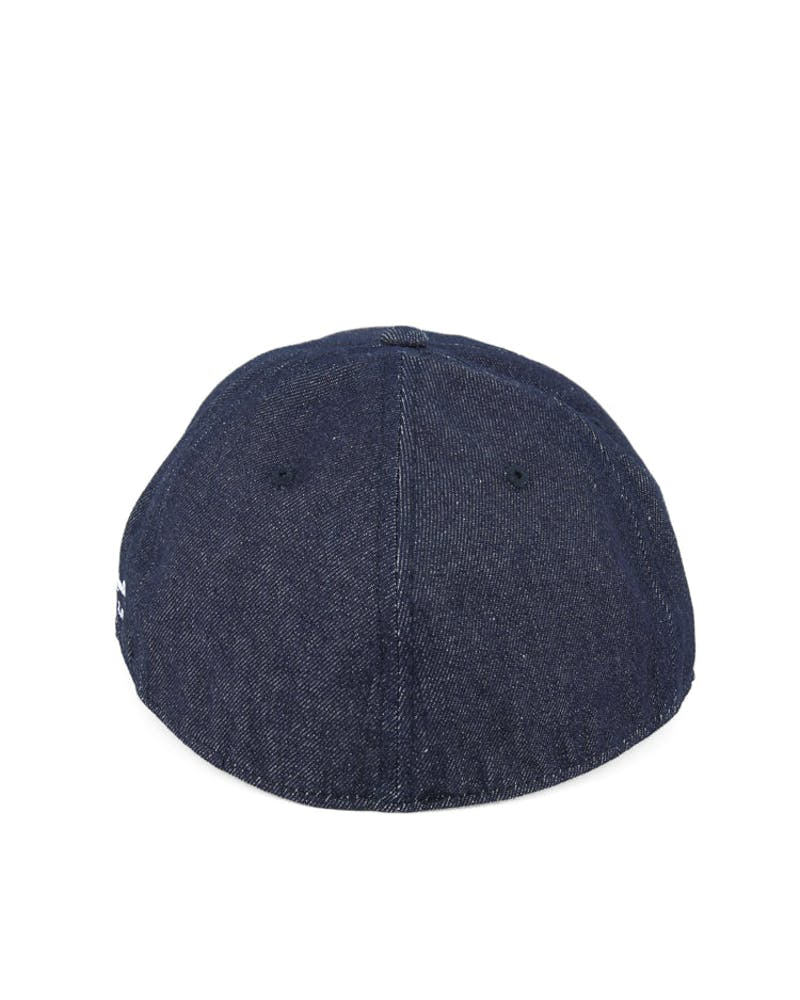 Creston Fitted Cap Denim