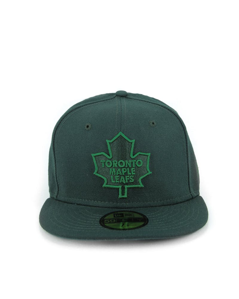 Toronto Maple Leafs Fashion Fitted Dark Green