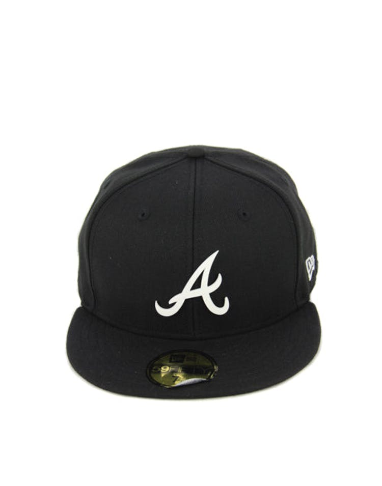 Atlanta Braves Metal Black/white