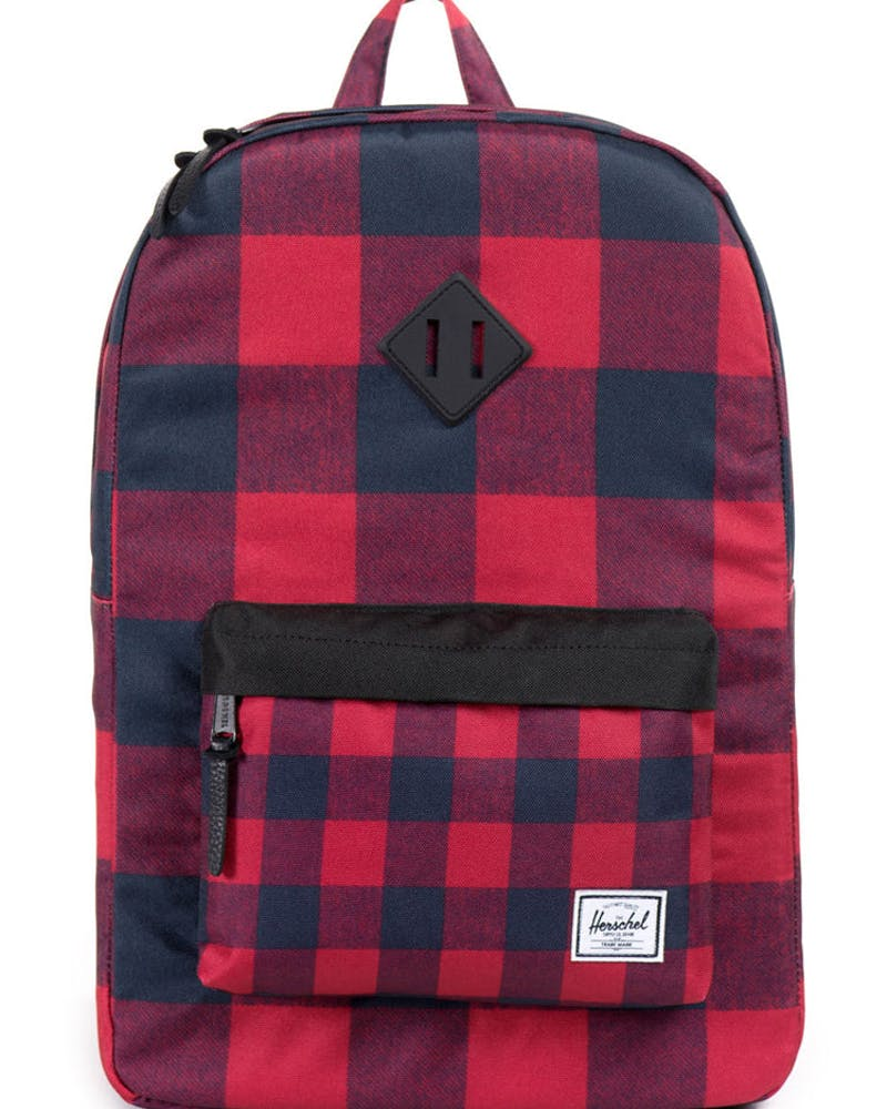 Heritage W Rubber Finish Red/black