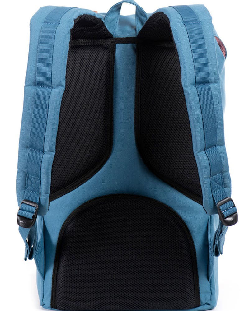 Little America Backpack 4 Blue/orange/kha