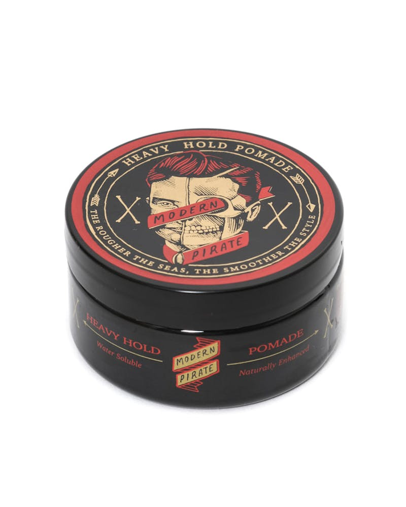 Heavy Hold Pomade Black/red