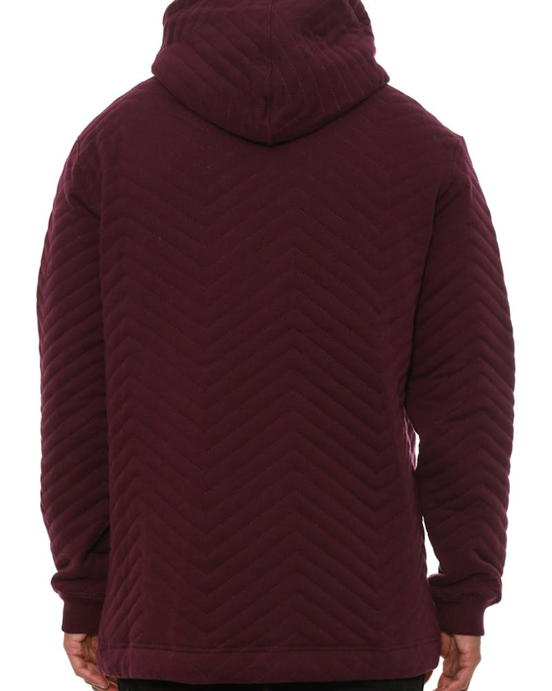 Box Truck Hoody Burgundy